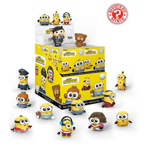 Minions: The Rise of Gru Mystery Minis Random 4-Pack