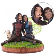 Avatar The Legend of Korra Korra and Asami in the Spirit World Statue