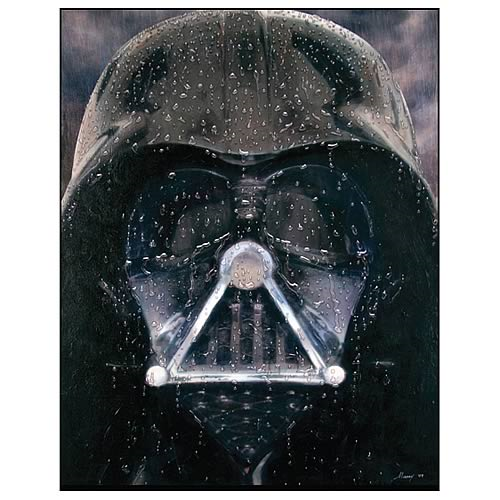 Star Wars Darth Vader Regrets Paper Giclee Print