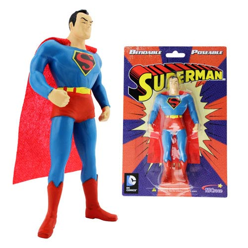 Superman 5 1/2-Inch Bendable Figure