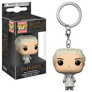 Game of Thrones Daenerys White Coat Pocket Pop! Key Chain