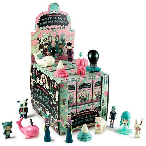 Stellar Dream Scouts Mini by Tara McPherson Random 4-Pack