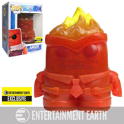 Inside Out Crystal Anger Pop! Vinyl Figure - Entertainment Earth Exclusive, Not Mint