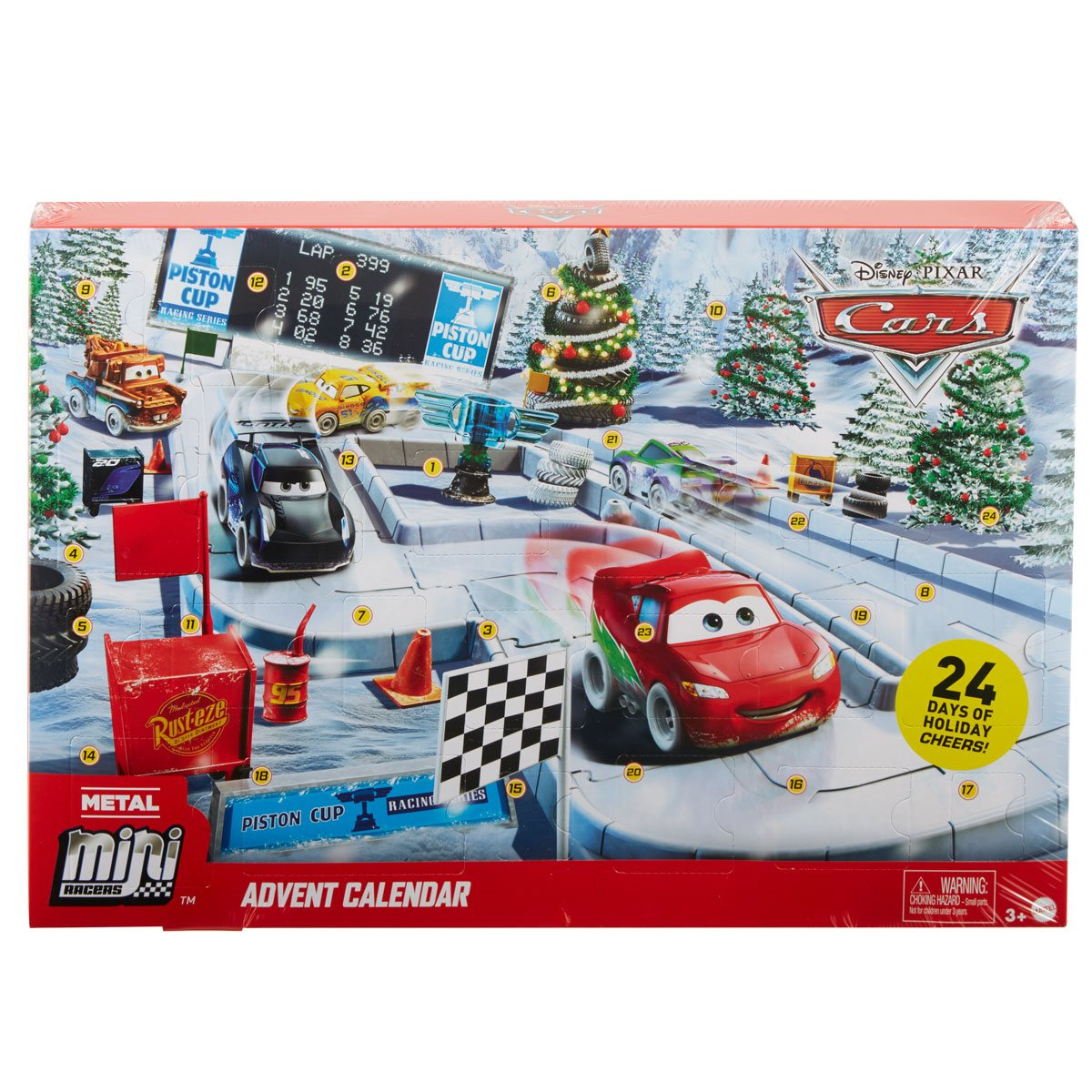 Disney Cars GBV45 Disney Pixar Cars Advent Calendar