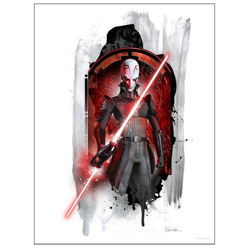 Star Wars Rebels Inquisitor by Steve Anderson Lithograph Art Print
