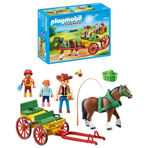 Playmobil 6932 Country Horse-Drawn Wagon