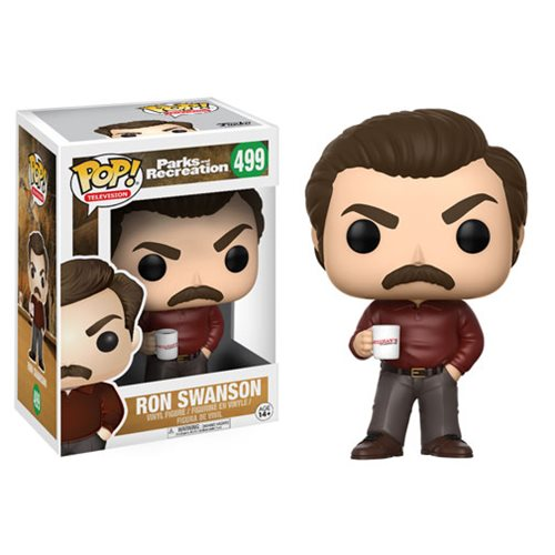 Parks and Recreation Ron Swanson Pop! Vinyl Figure #499