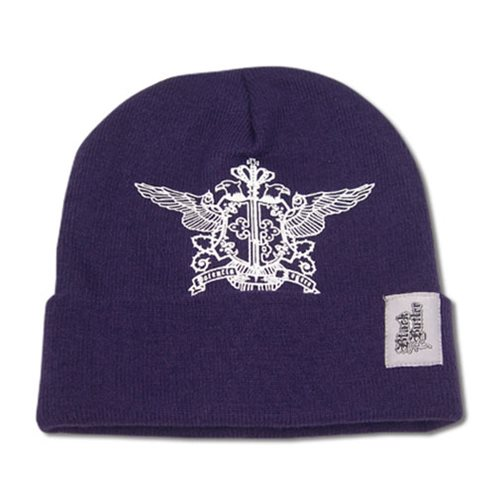 Black Butler Purple Symbol Beanie Hat