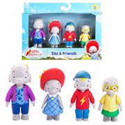 Ella the Elephant Ella and Friends Action Figure 4-Pack