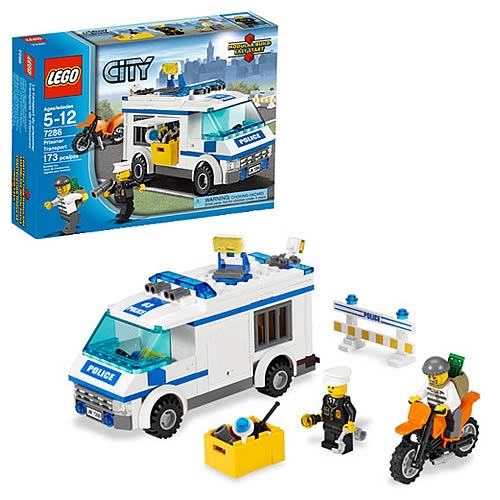 LEGO City 7286 Prisoner Transport
