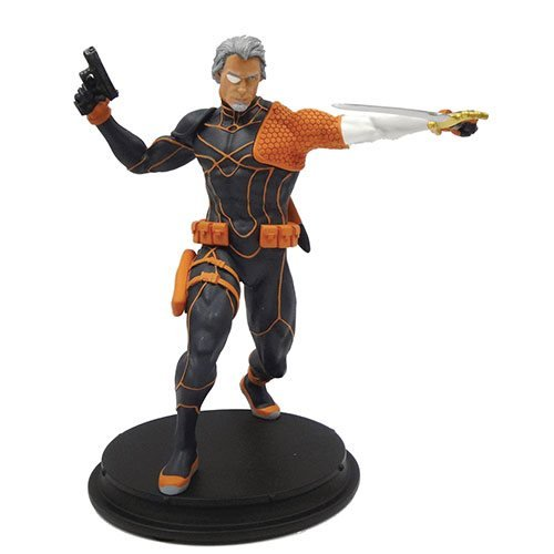 DC Comics Rebirth Deathstroke Unmasked Statue - Previews Exclusive