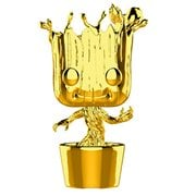 Marvel Studio's 10th Anniversary Guardians of the Galaxy Chrome Dancing Groot Pop! Vinyl Figure #378