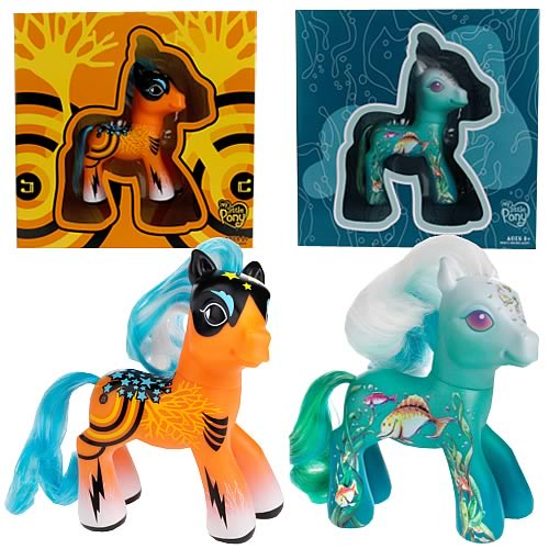 My Little Pony Collector Art Pony Wave 1 Set