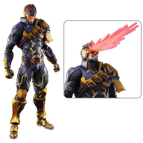 Marvel Universe Cyclops Variant Play Arts Kai Action Figure