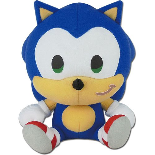 Sonic the Hedgehog SD Sonic Sitting 7-Inch Plush