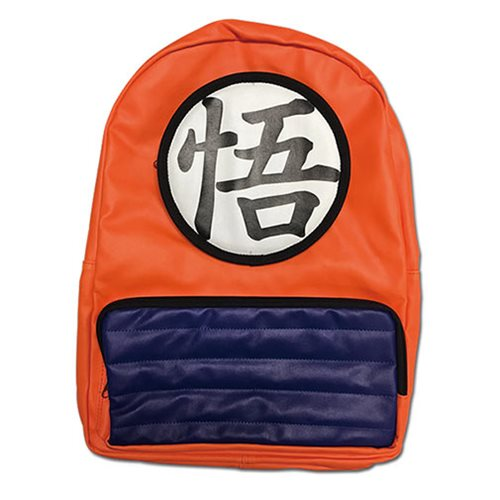 Dragon Ball Z Goku Clothes Backpack Entertainment Earth