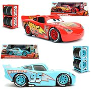 Cars 3 1:24 Scale Die-Cast Metal Vehicles with Tire Rack Series 2 Case