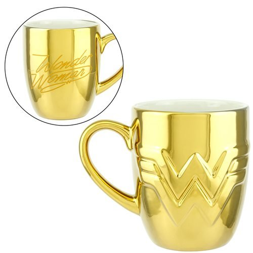 Wonder Woman 1984 Logo Embossed Mug