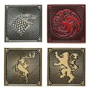 Game of Thrones House Lapel Pin Set