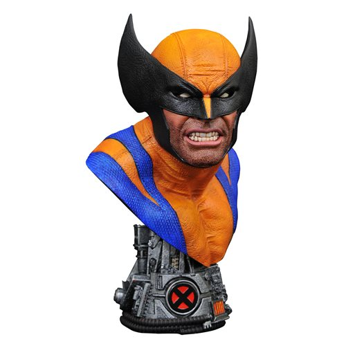 Marvel Legends In 3D Wolverine 1:2 Scale Bust