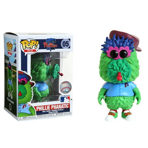 MLB Philadelphia Phillies Phillie Phanatic Pop! Vinyl Figure