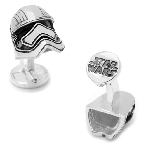Star Wars Captain Phasma 3D Cufflinks