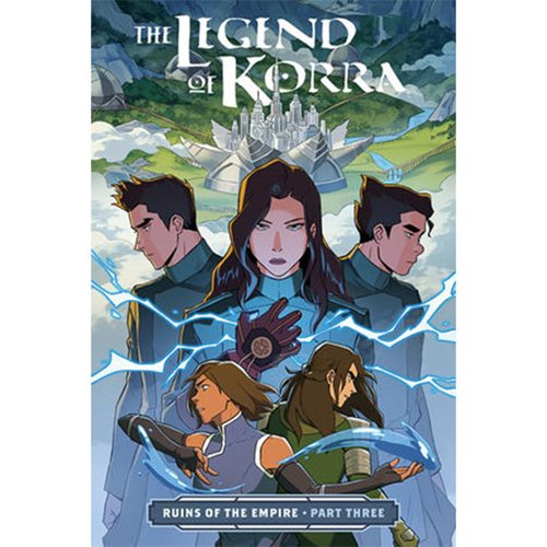 The Legend of Korra: Ruins of the Empire Part Three Book