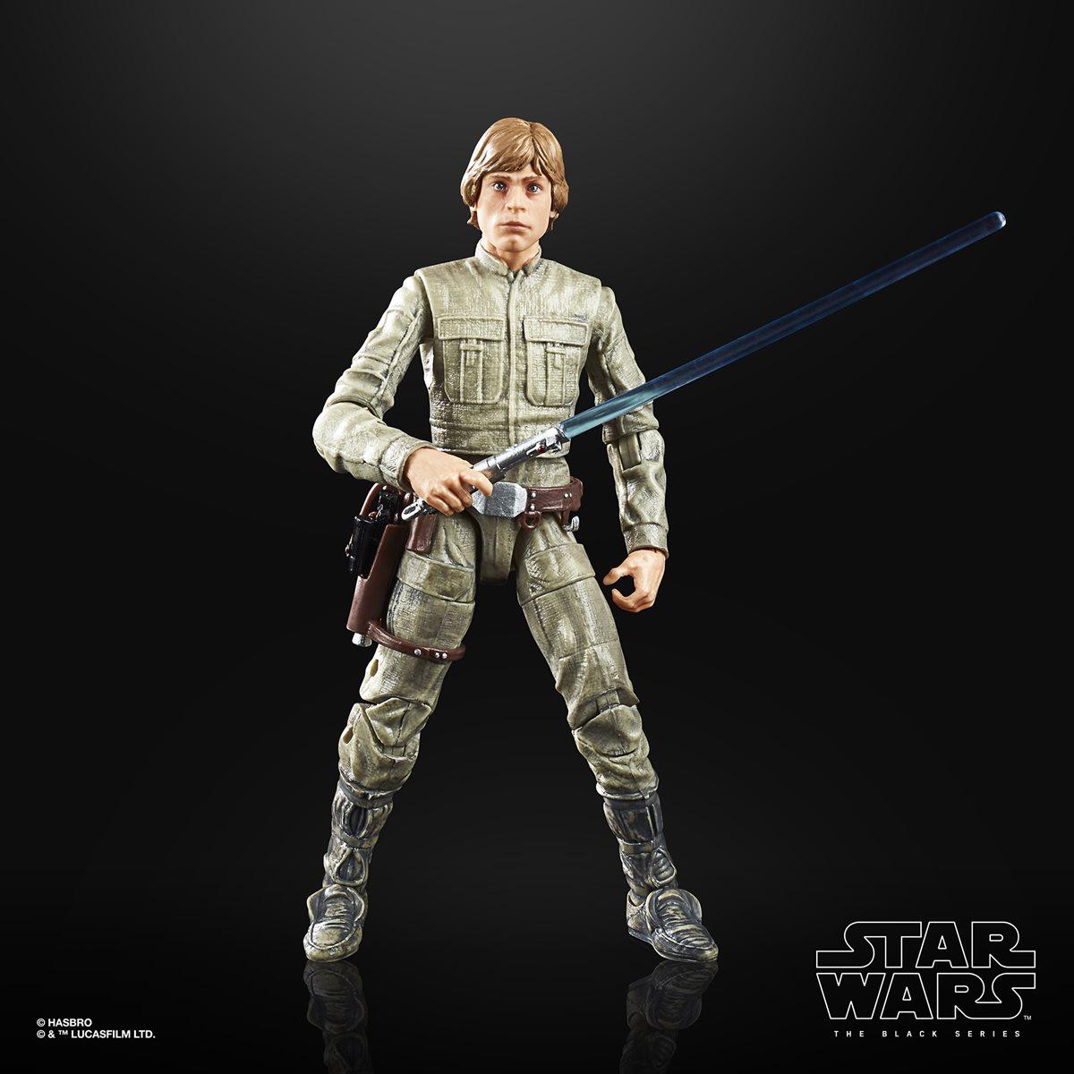 Star Wars The Black Series ESB 40th Anniversary 6-Inch Luke Skywalker Dagobah Ac