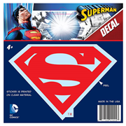 Superman Classic Logo Red Decal