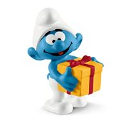 Smurfs Jokey with Present Collectible Figure