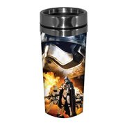 Star Wars: Episode VII - The Force Awakens Phasma and Flametroopers 16 oz. Stainless Steel Travel Mug