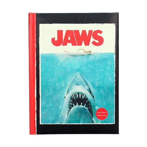Jaws Notebook with Light