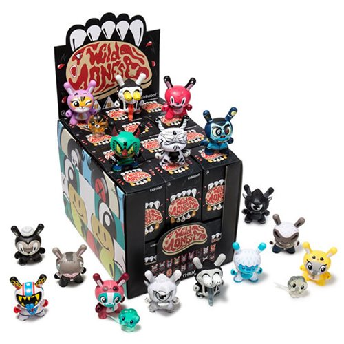 The Wild Ones Dunny Series Mini-Figure Random 4-Pack