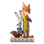Disney Traditions Zootopia Judy and Nick Partners in Crime-Fighting Statue