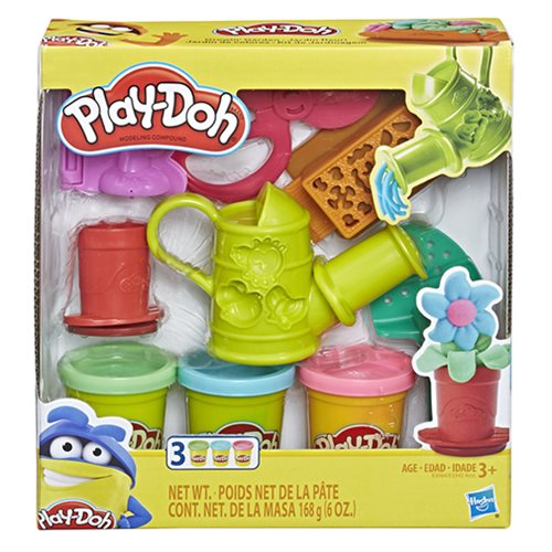 Play-Doh Growin' Garden Toy Gardening Tools Set