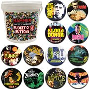 Hammer Horror House of Horror 144-Piece Bucket o' Buttons