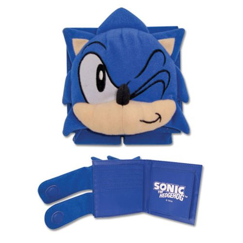 Sonic The Hedgehog Classic Sonic Wallet - Entertainment Earth