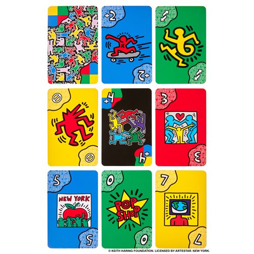 UNO Artist Keith Haring Game