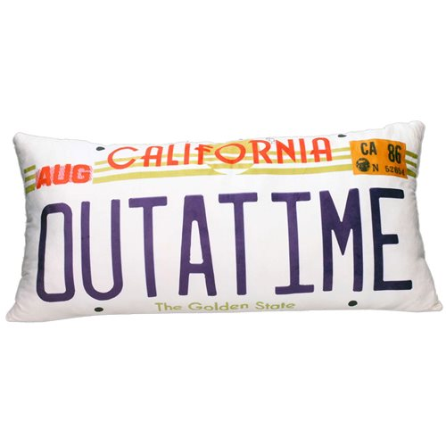 Back to the Future Outtatime Rectangular Cushion