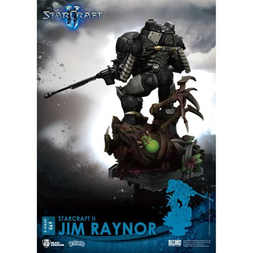 StarCraft II Jim Raynor DS-069 D-Stage 6-Inch Statue