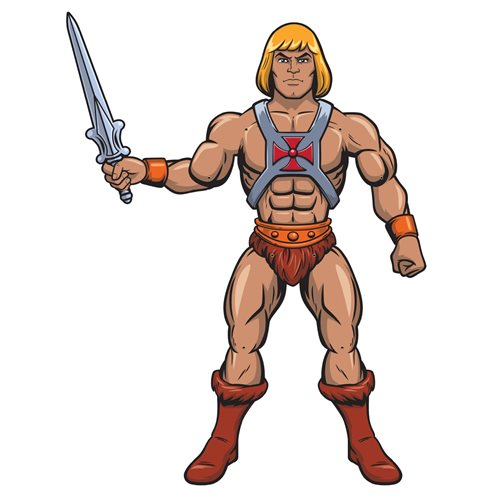 Masters of the Universe He-Man Paper People