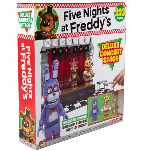 Five Nights at Freddy's Series 6 Deluxe Concert Stage Large Construction Set