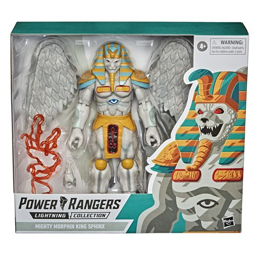 Power Rangers Lightning Collection Mighty Morphin King Sphinx 6-Inch Action Figure