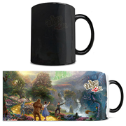 Wizard of Oz Dorothy Discovered the Emerald City Thomas Kinkade Studios Morphing Mug