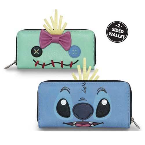 Lilo & Stitch Two-Face Stitch and Scrump Wallet