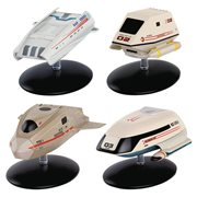 Star Trek Starships Shuttlecraft Set #2 Die-Cast Metal Vehicles