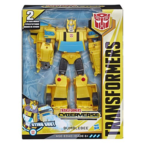 Transformers Cyberverse Action Attackers Ultimate Class Bumblebee