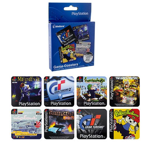 PlayStation Game Coasters 4-Pack