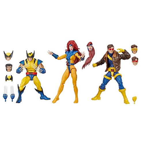 Marvel Legends X-Men Jean Grey, Cyclops, and Wolverine