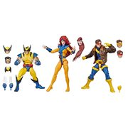 Marvel Legends X-Men Jean Grey, Cyclops, and Wolverine 6-Inch Action Figure 3-Pack - Exclusive